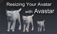 Resizing Your Avatar with Avastar - Tinies & Giants - Tutorial