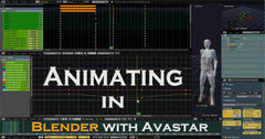 Animating in Blender with Avastar - Tutorial