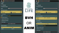 Second Life Animation - BVH or ANIM - Tutorial