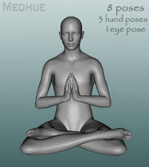 Meditate Pose Set