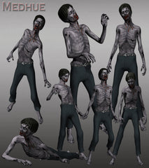 Zombie Animation Set