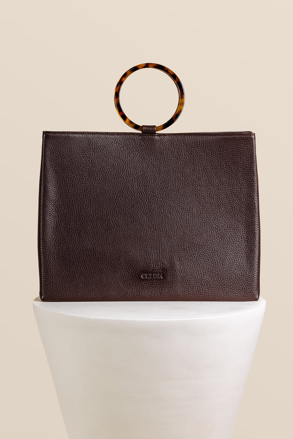 Mademoiselle Beatrice Bag - Chocolate