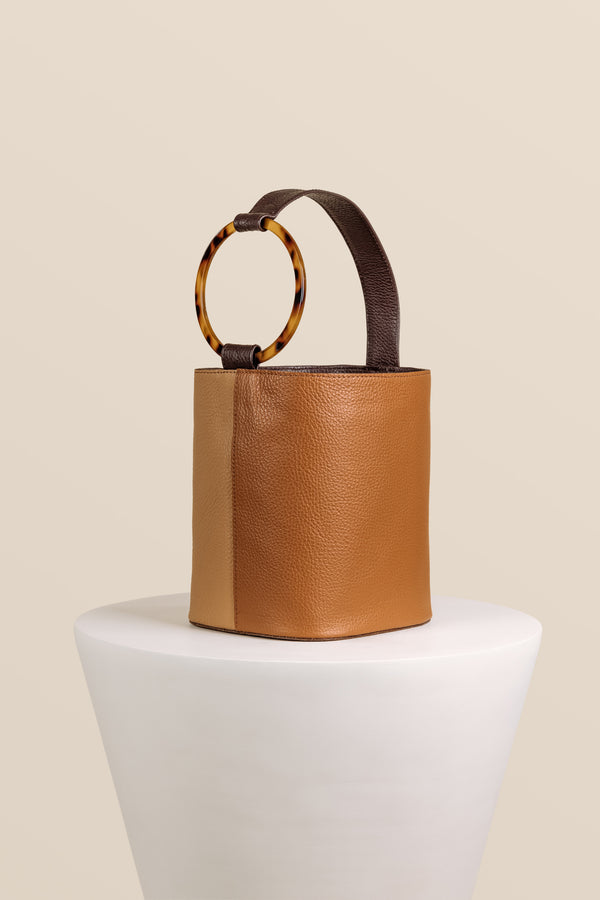 Kai Bucket Bag - Multi Hazelnut