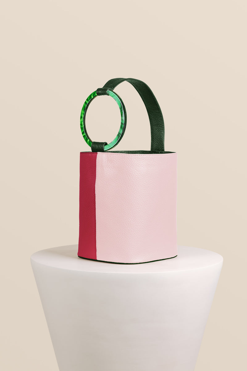 Kai Bucket Bag - Multi Fuchsia