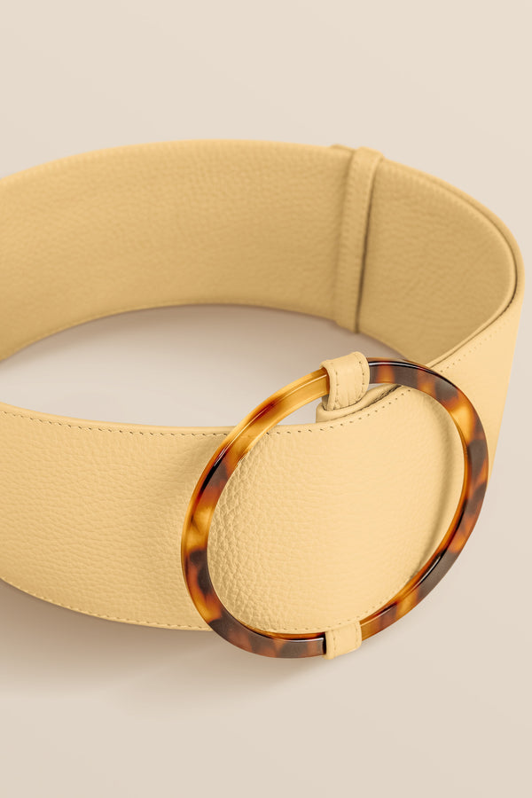 Bamboleo Leather Belt - Banana