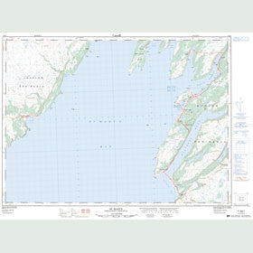 Canadian Topo Map - St. Mary's - Map 001K13