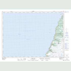 Canadian Topo Map - Ship Cove - Map 001M01