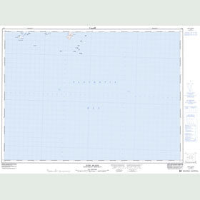 Canadian Topo Map - Jude Island - Map 001M02