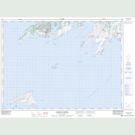 Canadian Topo Map - Harbour Breton - Map 001M05