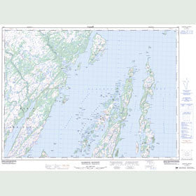 Canadian Topo Map - Harbour Buffett - Map 001M09