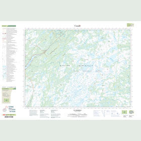 Canadian Topo Map - St. Catherine's - Map 001N03