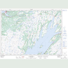 Canadian Topo Map - Placentia - Map 001N04