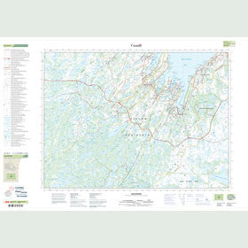 Canadian Topo Map - Holyrood - Map 001N06