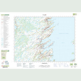 Canadian Topo Map - Harbour Grace - Map 001N11