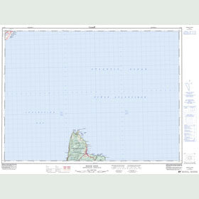 Canadian Topo Map - Pouch Cove - Map 001N15