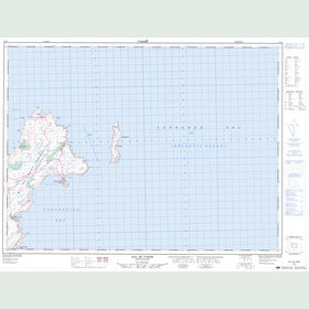 Canadian Topo Map - Bay de Verde - Map 002C02