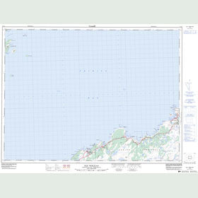 Canadian Topo Map - Old Perlican - Map 002C03