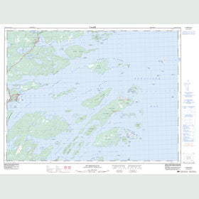 Canadian Topo Map - St. Brendan's - Map 002C13