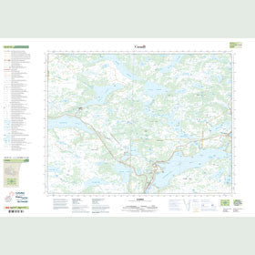 Canadian Topo Map - Gambo - Map 002D16