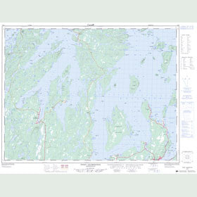 Canadian Topo Map - Point Leamington - Map 002E06