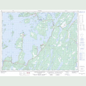 Canadian Topo Map - Comfort Cove-Newstead - Map 002E07