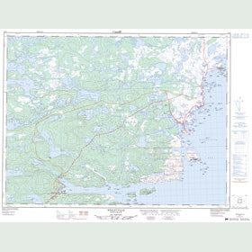 Canadian Topo Map - Wesleyville - Map 002F04