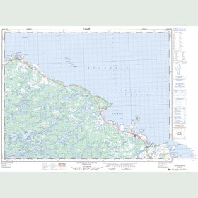 Canadian Topo Map - Musgrave Harbour - Map 002F05