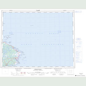 Canadian Topo Map - Wesleyville - Map 002F
