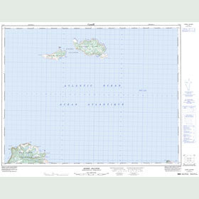 Canadian Topo Map - Horse Islands - Map 002L04