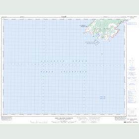 Canadian Topo Map - Grey Islands Harbour - Map 002L12