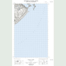 Canadian Topo Map - Henley Harbour - Map 002M13W