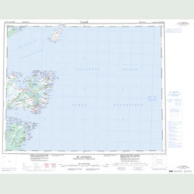 Canadian Topo Map - St. Anthony - Map 002M