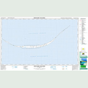 Canadian Topo Map - Sable Island - Map 010O13