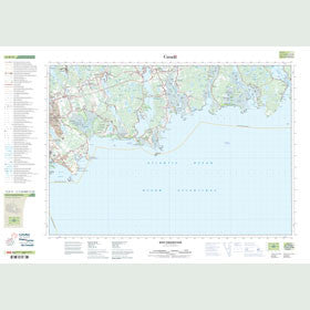 Canadian Topo Map - West Chezzetcook - Map 011D11