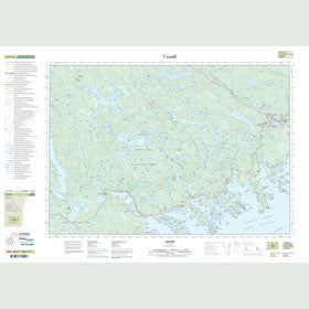 Canadian Topo Map - Tangier - Map 011D15