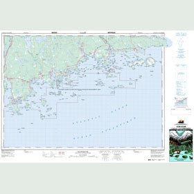 Canadian Topo Map - Ecum Secum - Map 011D16
