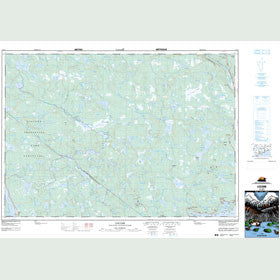 Canadian Topo Map - Liscomb - Map 011E01