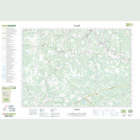 Canadian Topo Map - Hopewell - Map 011E07