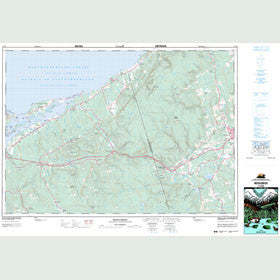 Canadian Topo Map - Merigomish - Map 011E09