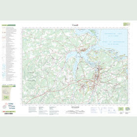 Canadian Topo Map - New Glasgow - Map 011E10