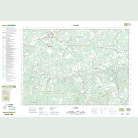 Canadian Topo Map - Oxford - Map 011E12