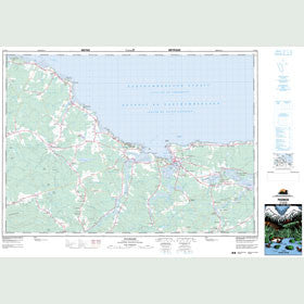 Canadian Topo Map - Pugwash - Map 011E13