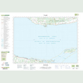 Canadian Topo Map - Pictou Island - Map 011E15