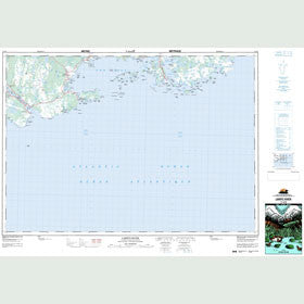 Canadian Topo Map - Larrys River - Map 011F03