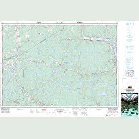 Canadian Topo Map - Guysborough - Map 011F05