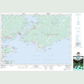 Canadian Topo Map - St. Peter's - Map 011F10