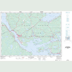 Canadian Topo Map - Port Hawkesbury - Map 011F11