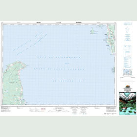 Canadian Topo Map - Cape George - Map 011F13