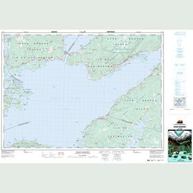 Canadian Topo Map - Grand Narrows - Map 011F15