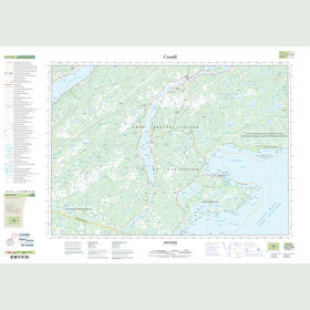 Canadian Topo Map - Mira River - Map 011F16